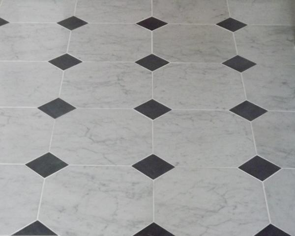 Octagonal carrara marble and slate cabuchons resized 600
