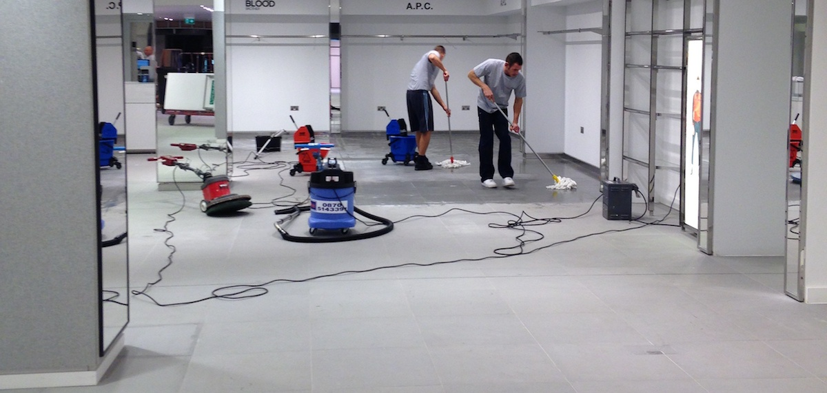 Specialist stone floor cleaning and restoration