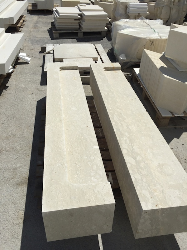 French Limestone Avy Blanc for bespoke structural work