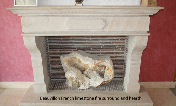 Beauvillon french limestone fireplace surround resized 600