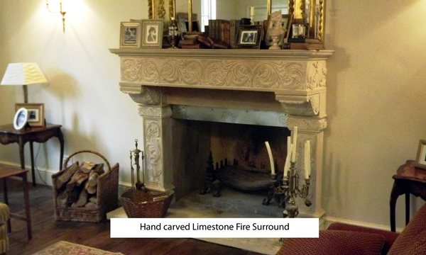 hand carved limestone fireplace resized 600