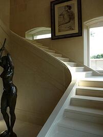 Spanish sandstone staircase