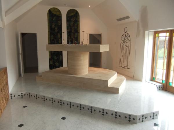 restored french limestone altar resized 600