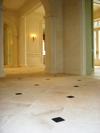 French limestone Roche de Clermont Antique tumbled