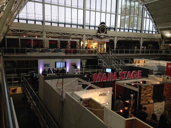Main stage at the Business Design Centre, #SDS15 Steve Turner Amarestone