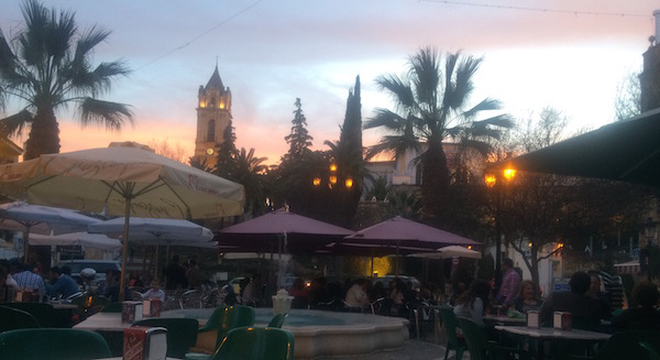 Spanish limestone quarry town square resized 600
