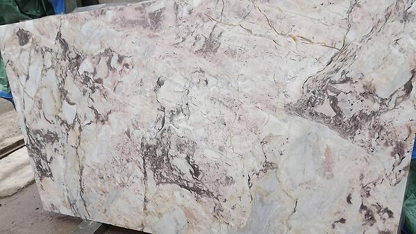 Breccia di Massa marble slab