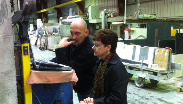 denise and franck water jet cutting resized 600