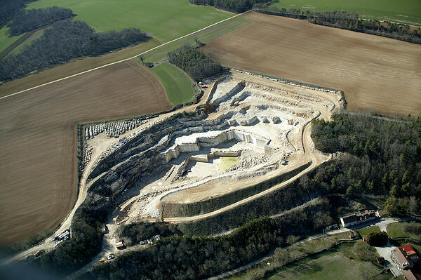 French limestone quarry