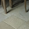 Limestone surface finishes
