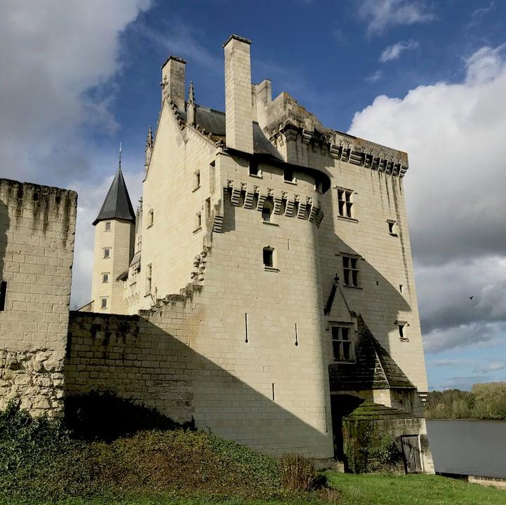 Tuffeau French limestone -  Chateau Montsoreau