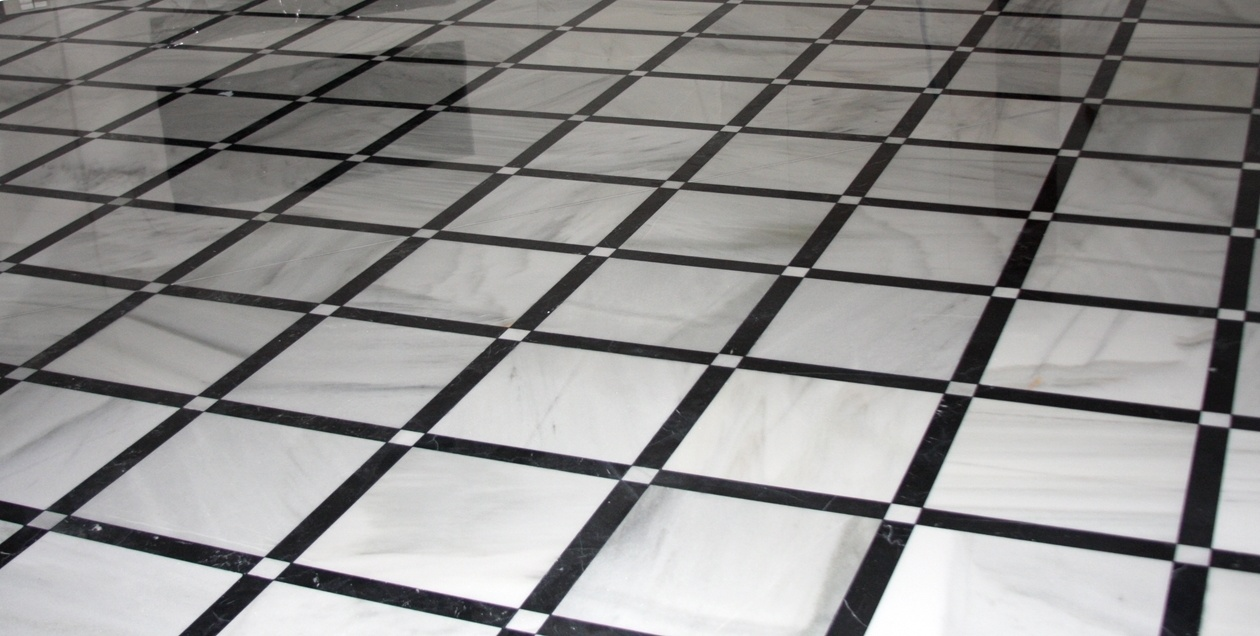 black and white tile floor. Spanish Blanco Macael And Nero Marquina Black White Marble Floor Tiles Tile E