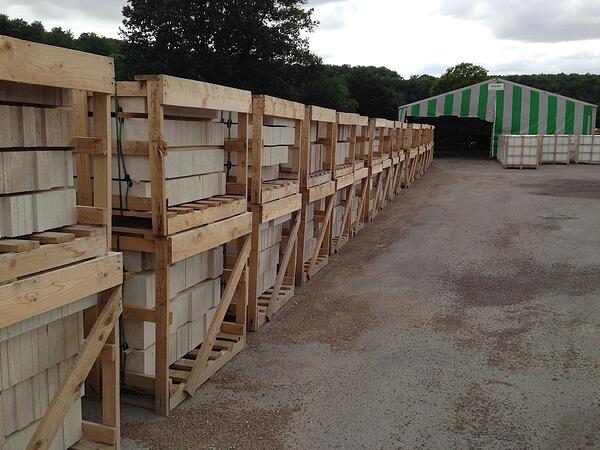Importing French limestone after Brexit no deal