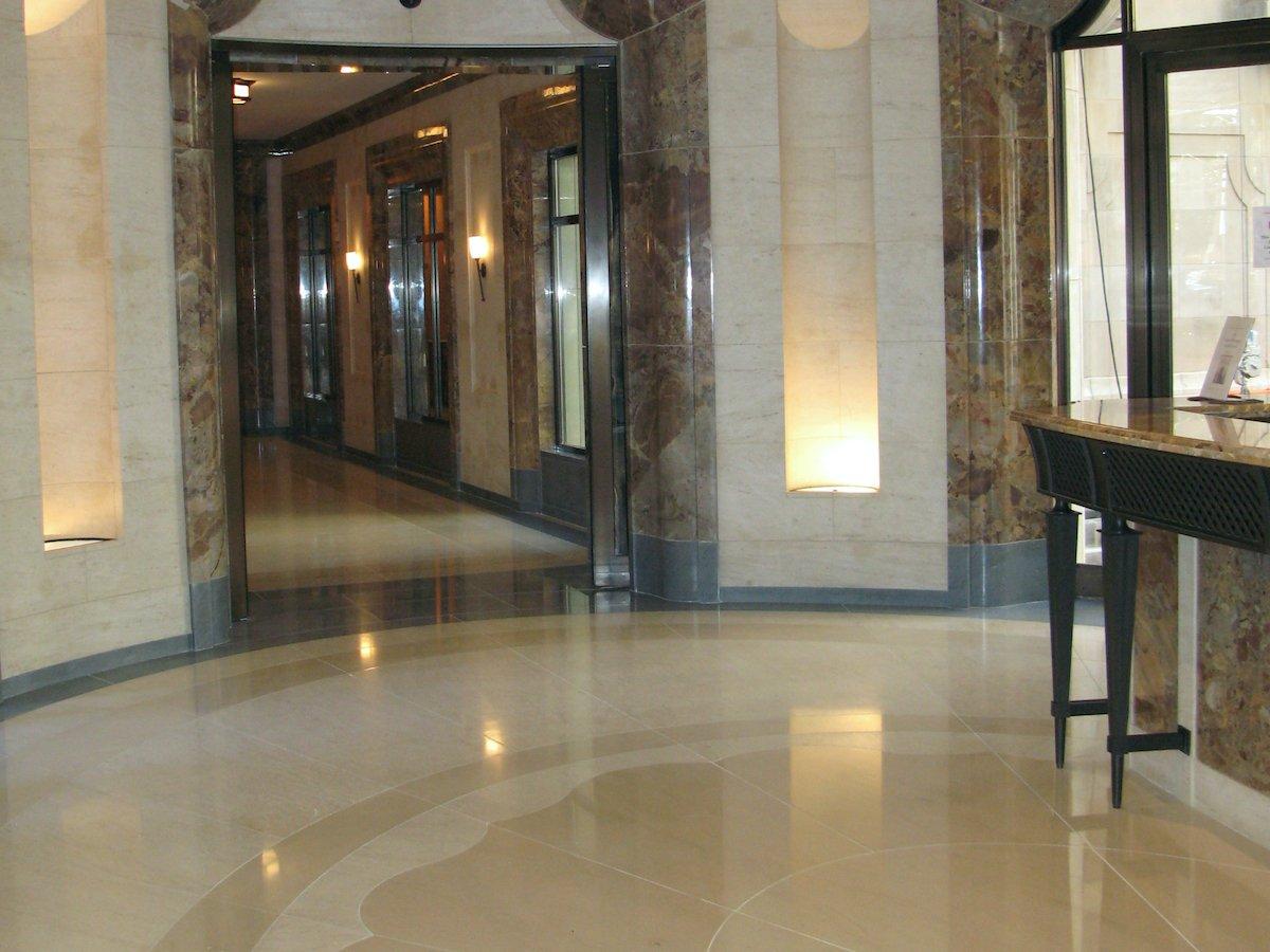 French limestone flooring tiles - Chamesson B2-B4 and B7